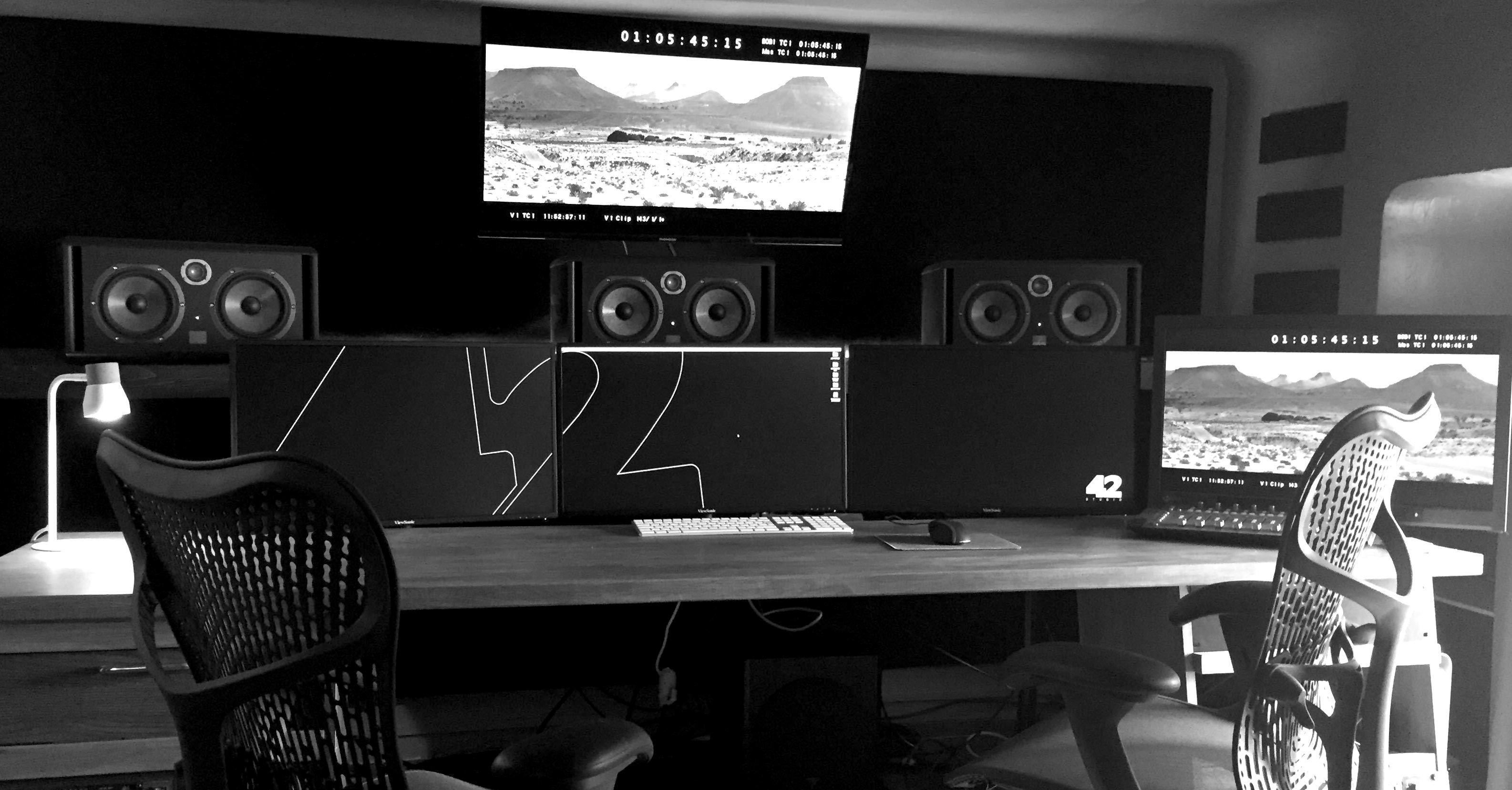 salle de montage son et sound design marseille
