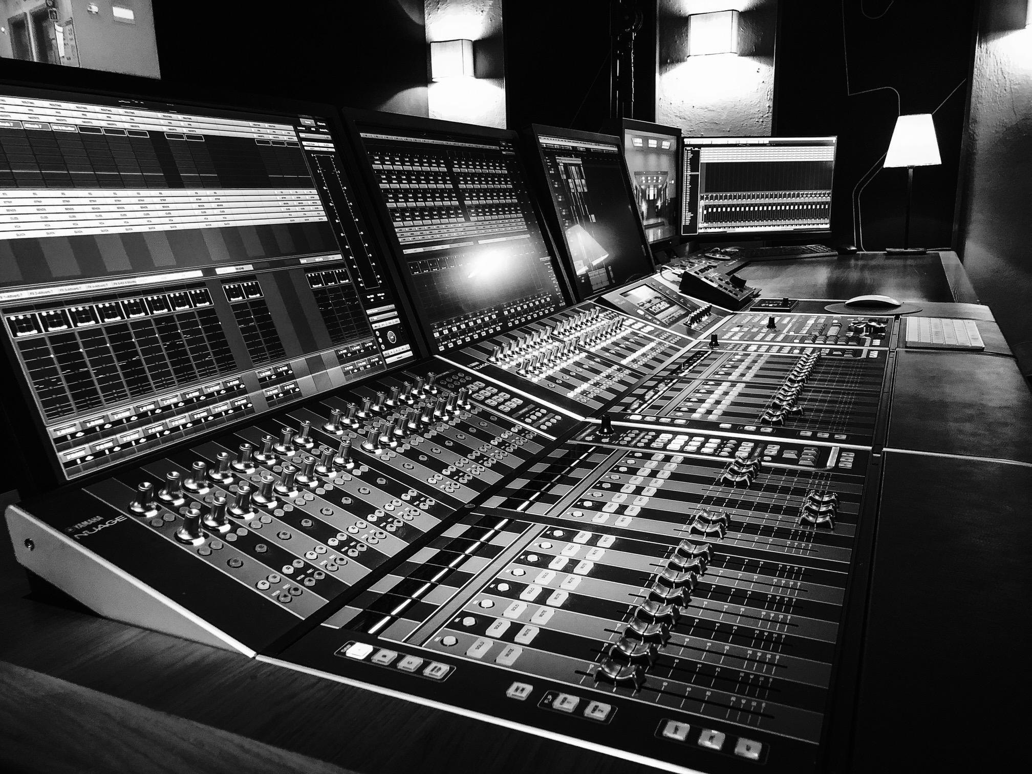 Post-production son à Marseille / auditorium de Mixage cinéma